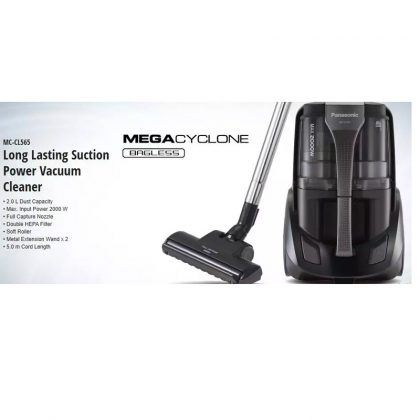 Panasonic MC-CL575K146 2000 Watt Bagless Vacuum Cleaner with Hepa Filter